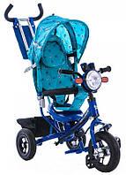 Детский трехколесный велосипед Azimut BC-17B air фара