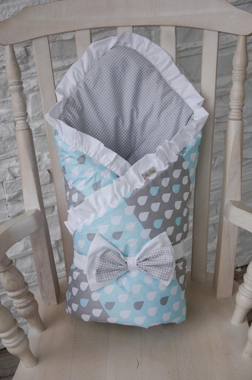Одеяло и конверт на выписку своими руками