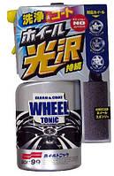 Очиститель дисков Soft99 New Wheel Tonic защита + антистатик, 400 мл