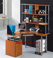 Угловой Компьютерный стол с надстройкой HS2001