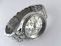Часы женские Michael Kors silver - серебристый циферблат в серебристом корпусе