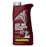 Трансмиссионное масло ATF WS (для трансмиссий Toyota с контролем скольжения передач)