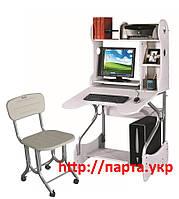 Растущие стол и стул для школьника Sunteam KD-334+H04