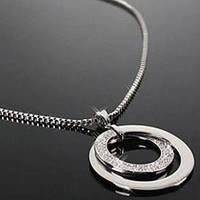 Ожерелье женское - кольца
