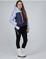 детская красивая и модная куртка жилетка на девочку подростка