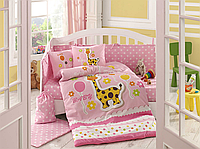 Комплект детского постельного белья Puffy (Розовый), Hobby