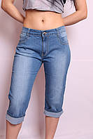 Женские джинсовые капри больших размеров (с 30 по 38 размеры)