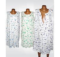 Ночная рубашка на пуговицах для беременных и кормящих мам, 100 % хлопок, р.р.54-58.