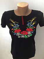 Женская футболка с полевыми цветами