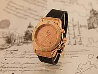 Часы женские Hublot Gold. Копия наручных часов Хаблот Золото