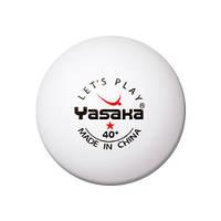 Пластиковые мячи Yasaka 1 star 40+