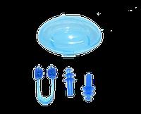 Набор для плавания BZ-1 (беруши и зажим для носа, контейнер)