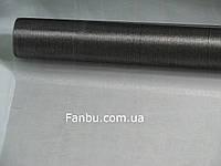 Органза обычная на метраж,цвет темно серый(ширина 70см)