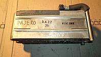 Радиатор кондиционера испаритель печки с Mitsubishi Pajero Wagon 2 1998 г.в.