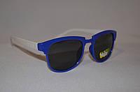 Солнцезащитные очки детские Wayfarer бело-синий