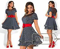 """Игривое женское платье большого размера """"Амина"""""""