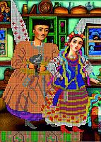 Схема для вышивания бисером Вакула и Оксана КМР 4038