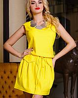 Льняное летнее платье | Албен jd