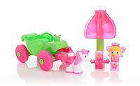 Конструктор Mega Bloks Lil&Princess Маленькая принцесса набор Волшебная карета (80411)