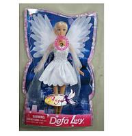 """Кукла """"Defa Lucy"""" 8219 Ангел свет крылья, в слюде 30*19 см"""