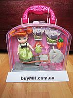 Кукла Анна Anna 13 см Дисней из коллекции Disney Animators mini оригинал