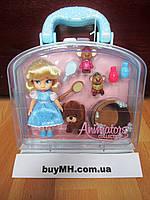 Кукла Золушка Cinderella 13 см Дисней из коллекции Disney Animators mini оригинал