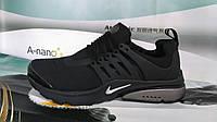 Мужские повседневные кроссовки NIKE Air Presto черные