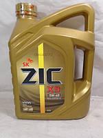 Моторное масло ZIC 5W40 X9 SN синтетика 4л
