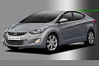 Дефлекторы окон ветровики Hyundai Elantra 2011- (MD)