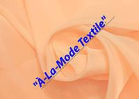 Шифон (вуаль) однотонный нежно-персиковый