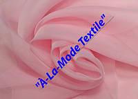 Шифон (вуаль) однотонный нежно-розовый