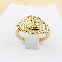 002-1267 - Необычный позолоченный перстень, 18р.