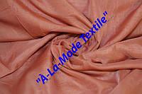 Шифон (вуаль) однотонный теракотово-розовый цв.29