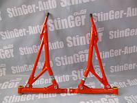 Рычаги треугольные ВАЗ 2108 2109 21099 2110-2112 2113-2113 2115  калина приора Красные на полиуретане