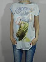 Футболка женская ажурная спинка размер S, M H&B Турция