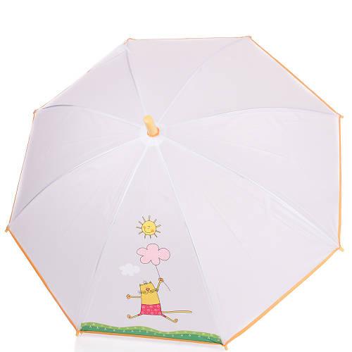 Сказочный детский зонт-трость механический облегчённый AIRTON (АЭРТОН) Z1511-05