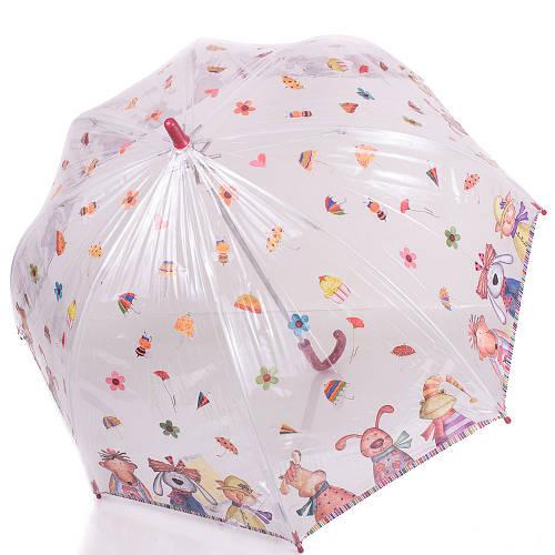 Красочный детский механический  зонт-трость ZEST (ЗЕСТ) Z51510-17