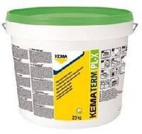 Финишная силиконовая штукатурка KEMATERM PL-X (Австрия) барашек, зерно 1,5мм и 2мм 25кг