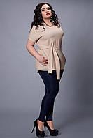 Летняя блуза удлиненного фасона