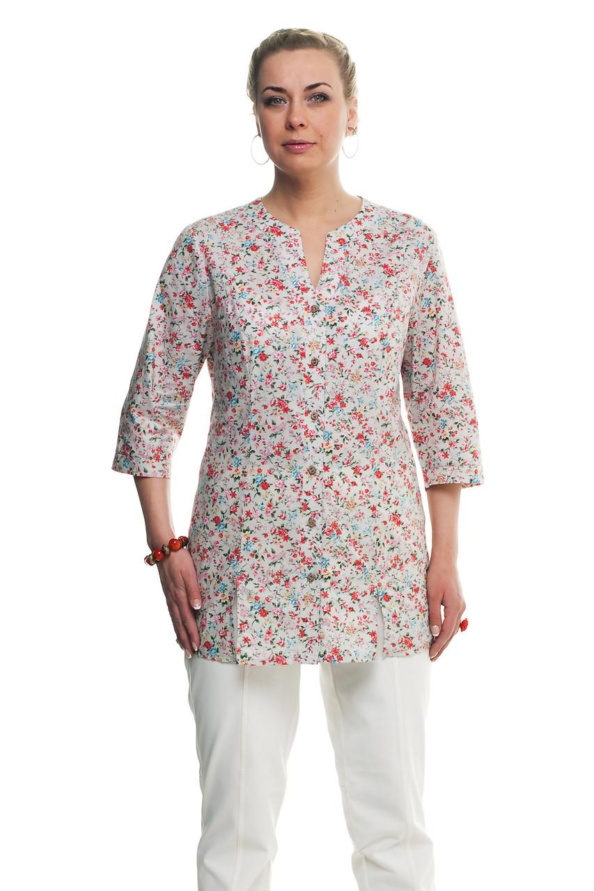 белая блузка больших размеров доставка
