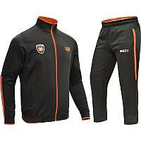 Спортивный костюм для занятий боксом ZIP UP RDX черный