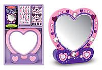 Создай свое зеркальце сердечко Melissa & Doug