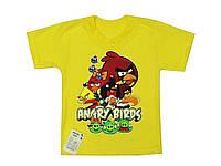 """Футболка с рисунком """"Angry Birds"""" детская"""
