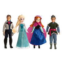 Frozen Mini Doll Set - 5'' Набор мини кукол Холодное сердце Анна Эльза Кристоф Ханс Дисней