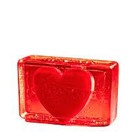 Глицериновое мыло куб ORG - Сердце для него, 100 г