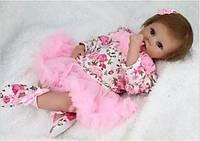 Шикарная кукла Бьянка, реборн, 53см, мягконабивная