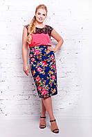 Модная летняя  юбка карандаш с 56 по 62  размер