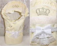 Плед конверт для новорожденных