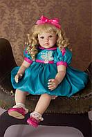 Модная кукла Стэфани, реборн, 61см, мягконабивная, в подарочной упаковке