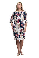 Женское повседневное платье большого размера 1605041